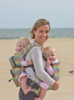 Twingaroo twin baby carrier & changing bag